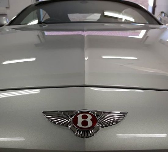 Bentley with full Gtechniq paint protection at Univesal Tint