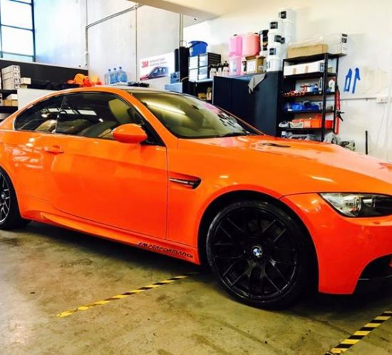 This M3 had Gtechniq Crystal Serum installed on it over 2 ye