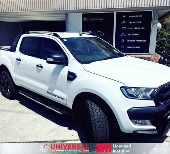 Ford Ranger Tinted in 3M CS35 On The Doors CS20 On The Rear