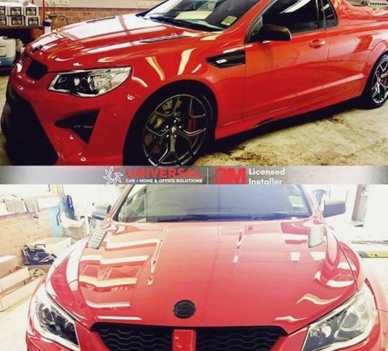 HSV Maloo tinted in 35% and paint protection, leather & viny