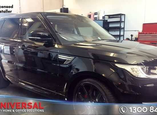 Rang Rover Tinted With Darkest Legal Window Film