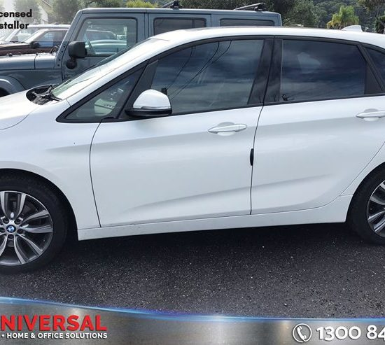 Vehicle: BMW 218