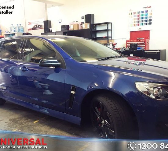 Vehicle: Holden Commodore